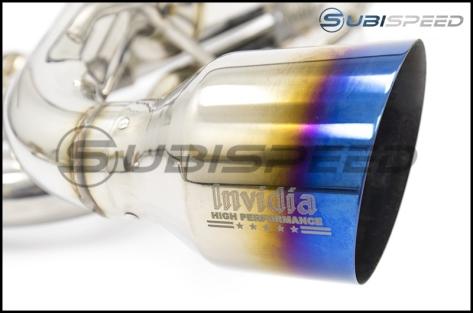 Invidia Gemini (R400) Dual Tip Exhaust - 2013+ FR-S / BRZ / 86