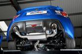 Milltek Sport Cat-Back Resonated Exhaust System - 2013+ FR-S / BRZ / 86