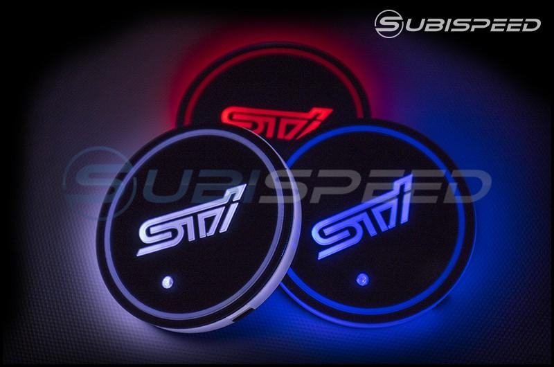 GCS STI Style LED Light Up Coasters