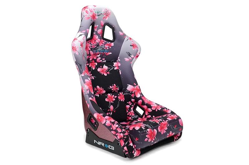 NRG Innovations FRP Sakura Japanese Blossom Edition Bucket Seat (Large)