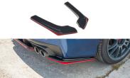 Maxton Design Redline Gloss Black Rear Spats - 2015+ WRX / 2015+ STI