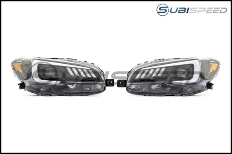 SubiSpeed DRL / Sequential Full LED Headlights - 2015-2017 WRX / 2018-2020 WRX Base and Premium / 2015-2017 STI