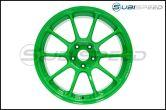 Volk ZE40 Takata Green 18x10 +35 - 2015+ WRX / 2015+ STI