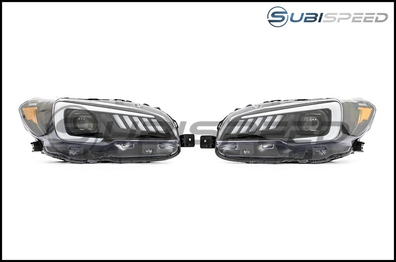 SubiSpeed LED Headlights DRL and Sequential Turn Signals