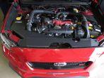 COBB Tuning Aluminum Radiator Shroud Black - 2015+ WRX / 2015+ STI