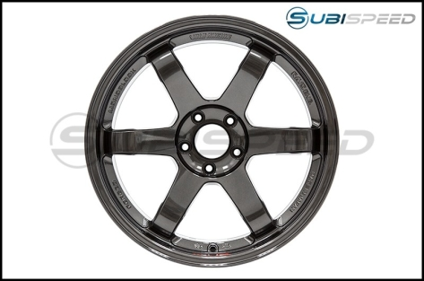 Volk TE37SL Diamond Black 18x10 +40 - 2015+ WRX / 2015+ STI