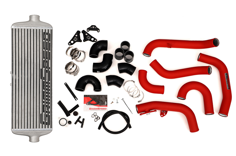 GrimmSpeed Front Mount Intercooler Kit - 2015-2020 STI