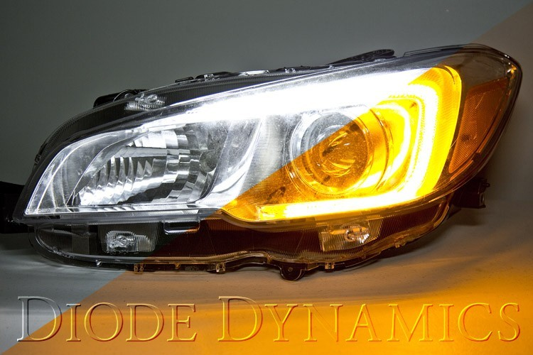 Diode Dynamics Switchback LED C-light DRLs for Headlights