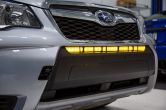 Diode Dynamics SS30 Amber Wide LED Light Bar Stage Series - 2016-2018 Forester