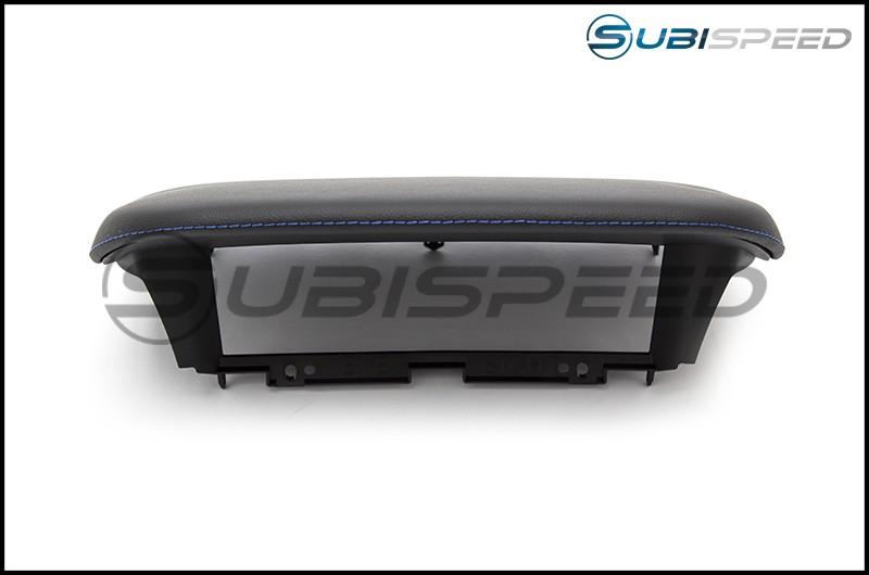 Subaru OEM JDM Console Hood with Blue Stitching