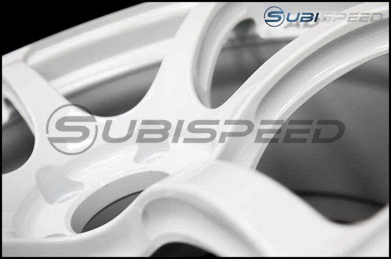 Advan RGIII 18x9.5 +45 Racing Special Edition White - 2015+ WRX / 2015+ STI