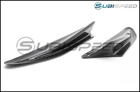 GCS S-line Fender Aero Fin Gloss Carbon Fiber - 2013+ FR-S / BRZ / 86