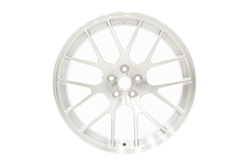 Apex Race Parts 17x9.5 +40 EC-7R Forged Brushed Clear