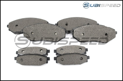 Carbotech AX6 Brake Pads - 2014-2018 Forester