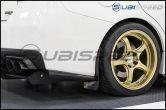 Carbon Reproductions Sujin Style Carbon Fiber Rear Spats - 2015+ WRX / 2015+ STI