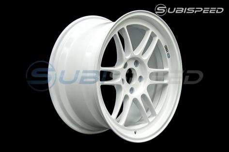 Enkei RPF1 18x9.5 +38mm Vanquish White - 2015-2020 Subaru WRX & STI