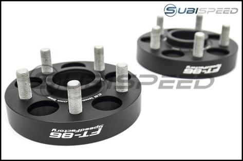 FT-86 SpeedFactory 5x100 Forged Aluminum Wheel Spacers