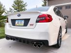 Sticker Fab Special Edition Dark Smoke Honeycomb C-Cut Tail Light Overlays - 2015-2020 WRX & STI