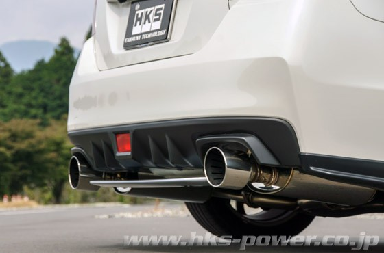 HKS S4 Super Turbo Cat Back Exhaust System