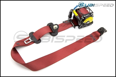Subaru USDM OEM Special Edition Type RA Red Seat Belt by Takata - 2015+ WRX / 2015+ STI