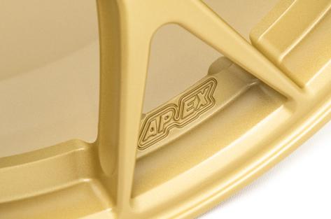 Apex Race Parts 18x9 +35 EC-7R Forged Satin Gold - 2013+ FR-S / BRZ / 86