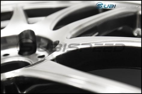 Work Emotion CR Kiwami 18x8.5 +38mm GT Silver - 2015+ WRX / 2015+ STI