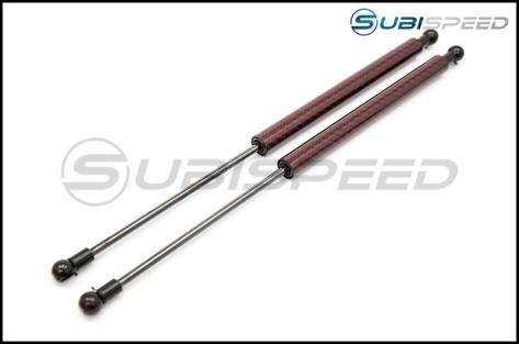 Carbon Reproductions Carbon Kevlar Hood Damper Kit - 13+ FT86 - 2013+ FR-S / BRZ / 86