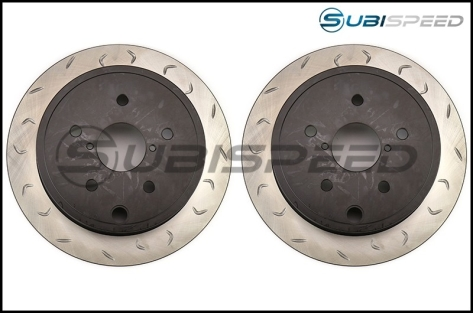 FactionFab Slotted Rotors - 2015+ WRX