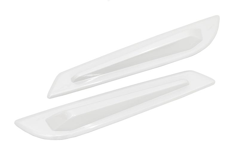 OLM STI V2 Paint Matched Spoiler Side Fins