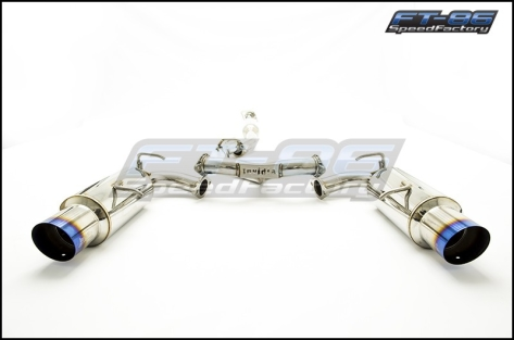 Invidia N1 Catback Exhaust TI Tips - 2013+ FR-S / BRZ