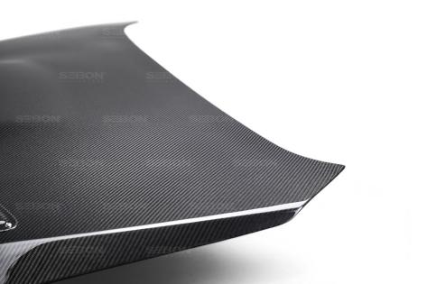 Seibon Carbon Fiber CS Style Hood - 2015+ WRX / 2015+ STI