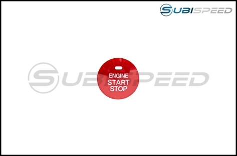 Subaru JDM Genuine Red Push to Start Cover with Indicator Cutout - 2013+ BRZ