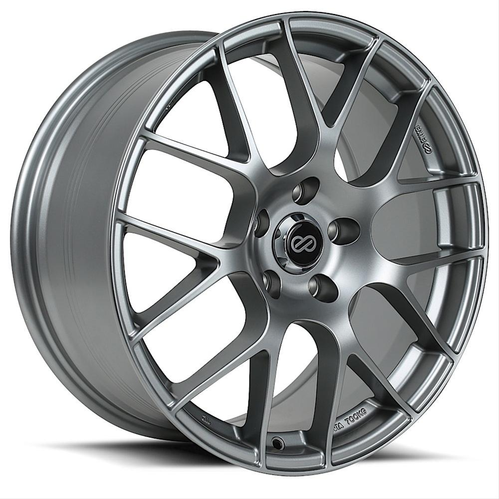 Enkei Raijin Wheels 18x8.5 +38mm (Gun Metal) - 2013+ FRS / BRZ / 86