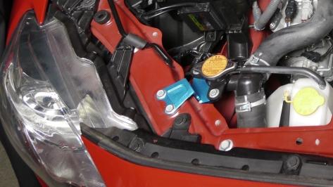 Cusco Aluminum Radiator Cap Stay