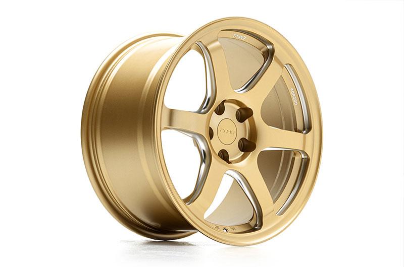 COBB Tuning Titan7 T-D6 COBB Edition 18x9.5 +40 Cyber Gold Wheels
