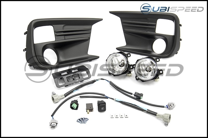 Subaru OEM Fog Light Kit - 18+ WRX