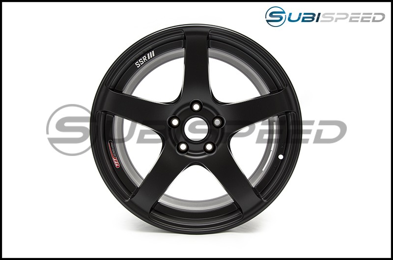 SSR GTV01 Flat Black 18x9 +35mm