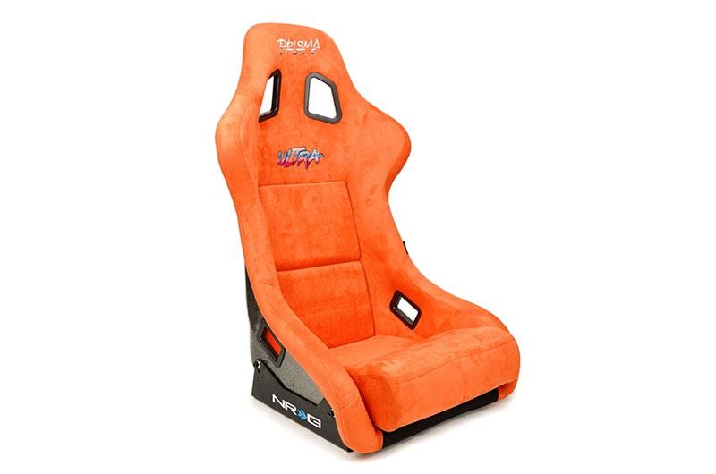 NRG Innovations FRP Ultra Edition Bucket Seat - Orange