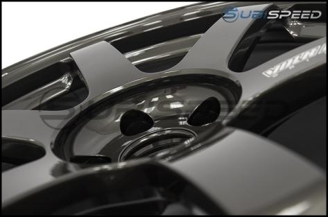 Volk TE37 SAGA Diamond Black 18x10 +41 - 2015+ WRX / 2015+ STI