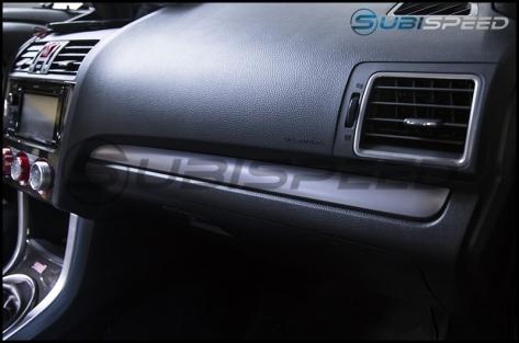 Subaru OEM Silver Dash Trim - 2015-2021 Subaru WRX & STI / 2014-2018 Forester / 2013-2017 Crosstrek / 2012-2014 Impreza