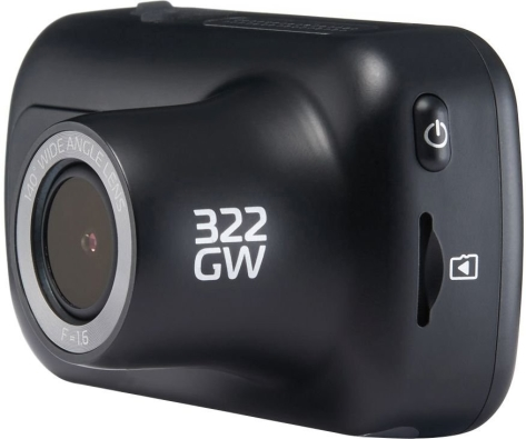 NextBase Dash Cam 322GW - 1080p HD 60 FPS 2.5in HD IPS Touch Screen - Universal