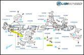 Subaru OEM Turbo to J Pipe Self Locking Nut - 2015+ WRX