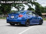 Sticker Fab Vinyl Taillight Overlays - 2015-2020 Subaru WRX & STI
