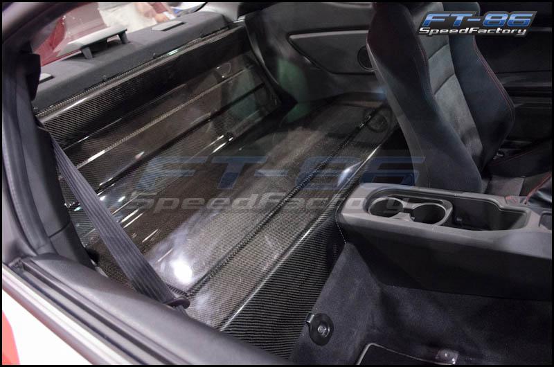 Seibon Carbon Fiber Rear Seat Panel