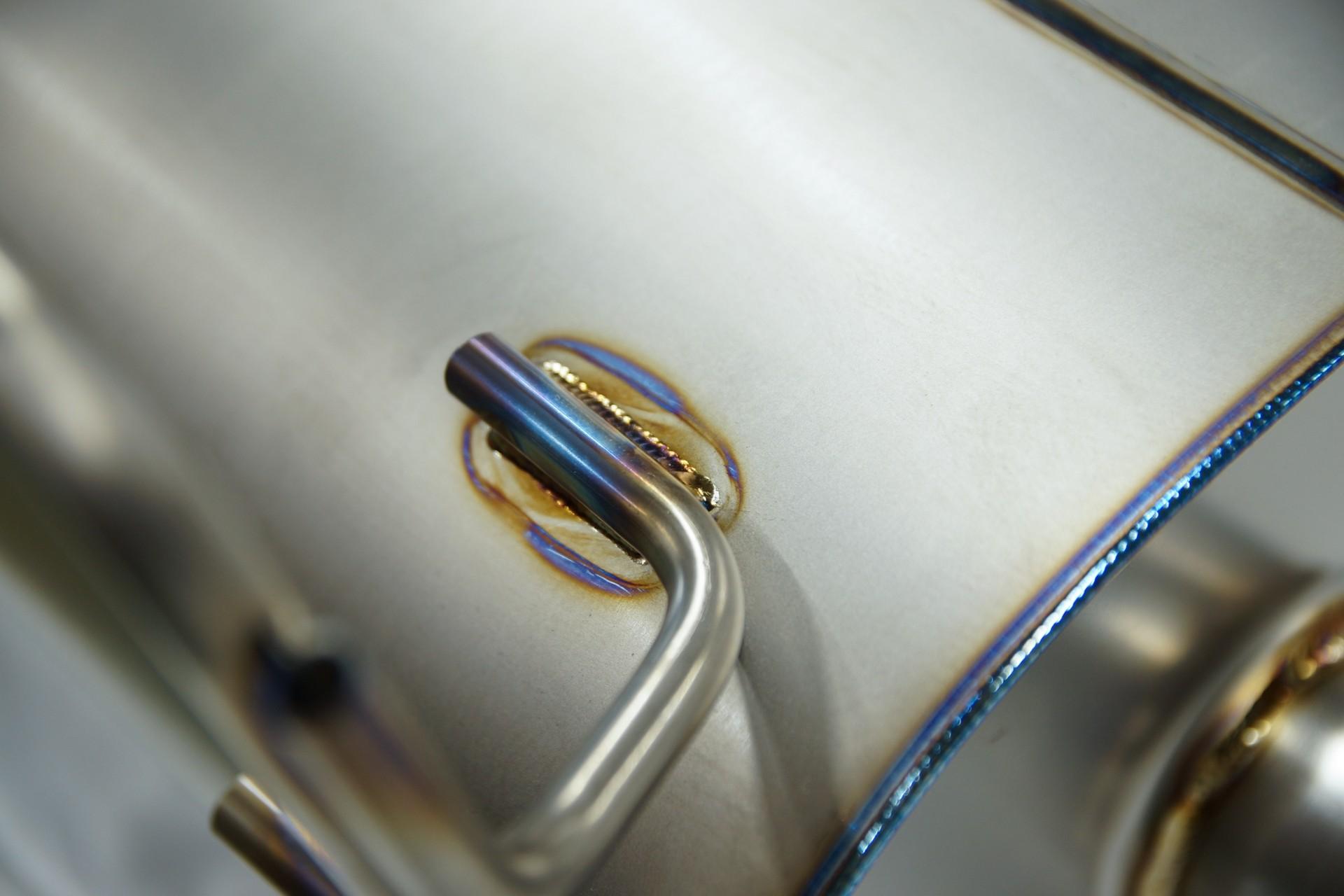 HKS Super Turbo Muffler Titanium Exhaust