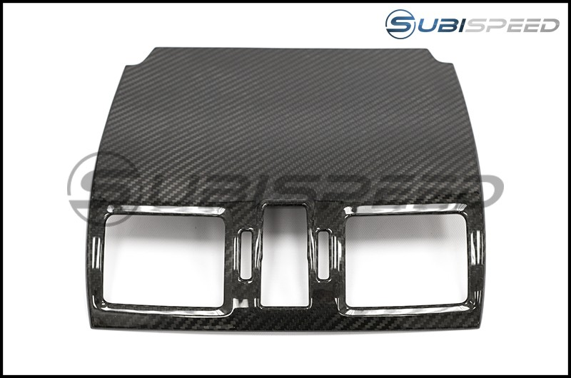 OLM LE Dry Carbon Fiber Center AC Trim Covers by Axis-Parts Japan