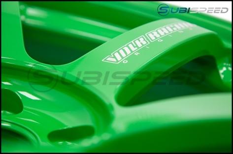 Volk TE37 SAGA Takata Green 18x10 +35mm - 2015+ WRX / 2015+ STI