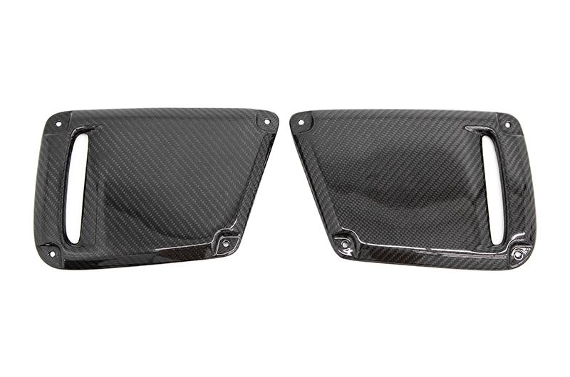 OLM Carbon Fiber Bezel Covers (For OE Bezels)