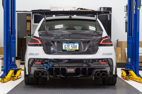 OLM Spec CR Sequential Tail Lights - 2015+ WRX / 2015+ STI