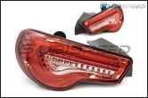 OLM VL Style / Helix Sequential Red Lens Tail Lights RC Edition - 2013-2020 Scion FR-S / Subaru BRZ / Toyota 86
